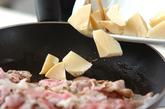 タケノコと豚肉のオイスター炒めの作り方1