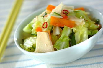 いろいろ野菜の甘酢漬け