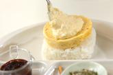 お好み焼き風ライスバーガーの作り方5