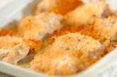 チキンの香草パン粉焼きの作り方2