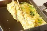 カニカマ入りだし巻き卵の作り方3