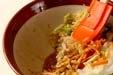 白菜のゴマ酢和えの作り方1