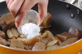 コンニャクの甘辛炒めの作り方2