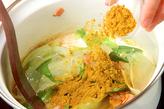 レタスのカレースープの作り方2