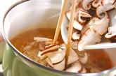 ゴボウの香りみそ汁の作り方2
