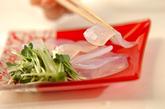 刺身コンニャクのおろし添えの作り方1