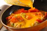 トマトと卵の炒め物の作り方2