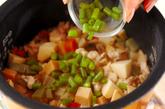 お煮しめの炊き込みご飯の作り方4