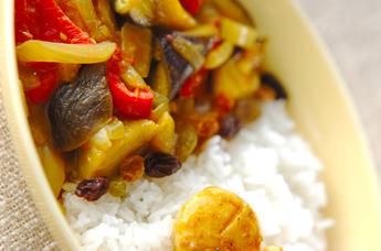 和風夏野菜カレー