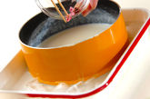 絹ごし豆腐のヘルシープリンの作り方3