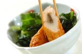 青菜とゴボウ天のサッと煮の作り方2