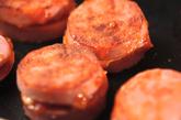 ソーセージのチーズはさみ焼きの作り方2