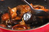 鶏肉とシイタケの煮物の作り方3