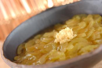 青ウリのくず煮