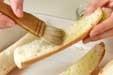 ガーリックトーストの作り方2
