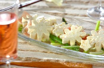 豆腐の七夕マリネ