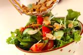 シンプルグリーンサラダの作り方1