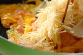 ポテトの卵とじの作り方3