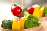 蒸し野菜チーズソースの作り方1