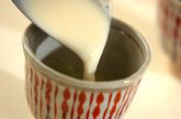 甘酒抹茶ラテの作り方3