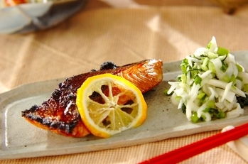 鮭の柚香焼き
