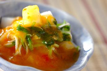 長芋の柿酢