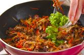 牛ゴボウ佃煮ご飯の作り方2