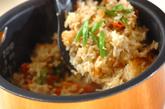 根菜入り炊き込みご飯の作り方3