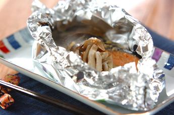 鮭の簡単ホイル焼き