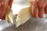 サラダ素麺の下準備1