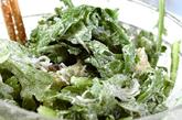 菊菜としらすのかき揚げ の作り方2