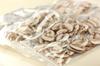 冷凍キノコの炊き込みご飯のポイント・コツ1