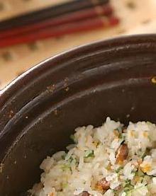 炒り大豆ご飯