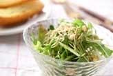 水菜のジャコサラダ