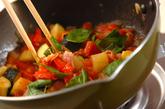 野菜の煮込みの作り方2