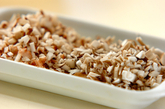 卵豆腐のキノコあんかけの作り方3