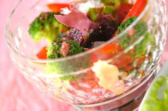 カラフル海藻サラダ