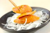 魚肉ソーセージのマスタード焼きの作り方2