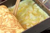 ホタテ入り卵焼きの作り方3