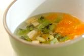 フルーツ入りアンニン豆腐の下準備2