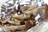ホウレン草とシメジのポン酢しょうゆ和えの作り方1