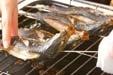 アジの塩焼きの作り方3