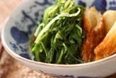青菜とちくわの煮物