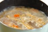 アッサリ粕汁の作り方1