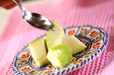 デザート・王林リンゴの作り方1