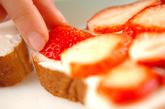 春の卵サンド&イチゴサンドの作り方5