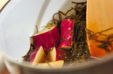 サツマイモの煮物の作り方2