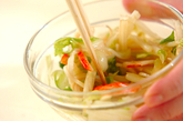 塩もみ白菜のサラダの作り方3