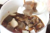 スジ肉煮込み丼の作り方2