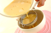 電子レンジで作る豆乳プリンの作り方2